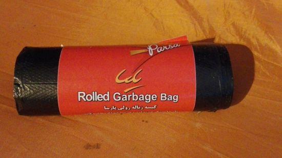 کیسه زباله رولی مشکی لندنی 2000 فروش
