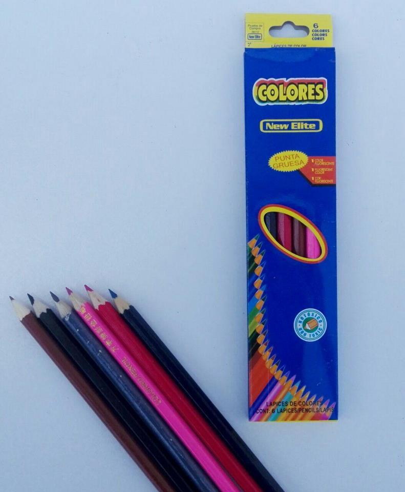 مداد رنگی 6 عددی 2000 فروش