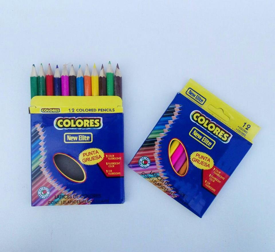 مداد رنگی 12 تایی 2000 فروش