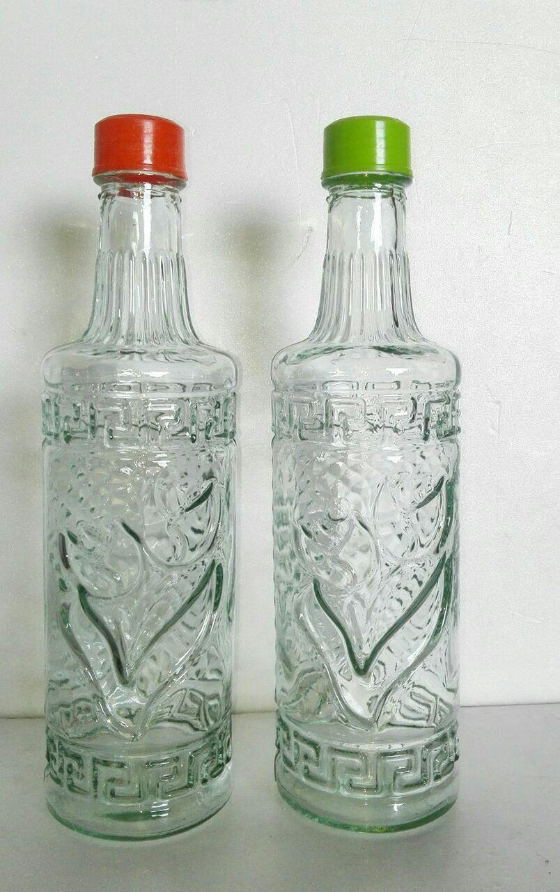 بطری آب گرد سفید  2000 فروش