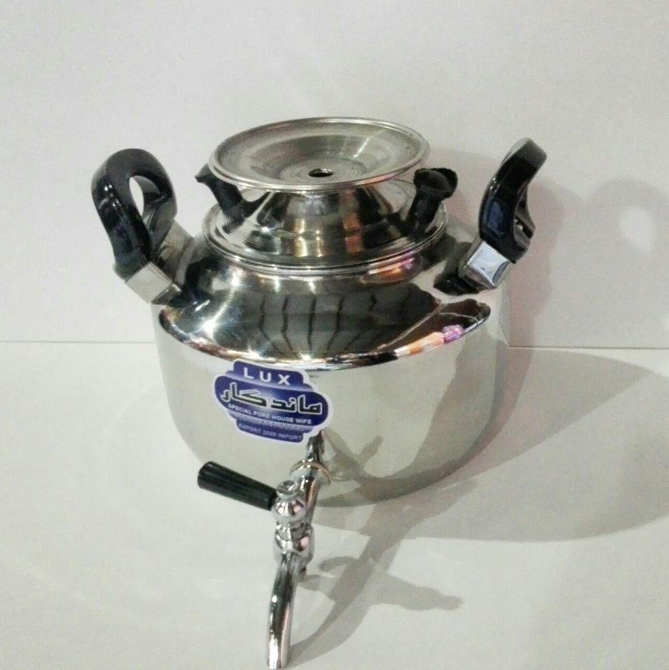 کتری استیل 9 لیتر شیردار - اجناس لوکس